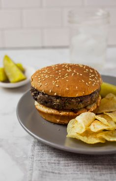 You're in for a treat today because I'm sharing these filling, spicy, cheesy, black bean burgers. If you've always assumed that veggie burgers have to taste like healthy cardboard, then you should try