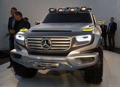 Mercedes-Benz Ener-G Force Concept Car - Yes please New Mercedes Amg, Daimler Ag, Jeep Truck, Exotic Cars, Custom Cars, Concept Cars, Super Cars, 4x4, Safari