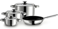 Josef Maeser GmbH Varuna 4-Piece Non-Stick Stainless Steel Cookware Set   Make the Best this Cheap Item. Take a look LUXURY HOME BRANDS and Grab this Opportunity Now!