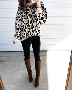 Sieh dir diesen Artikel an den ich bei LIKEtoKNOW.it gefunden habe. Brown Boots Outfit Winter, Tall Boots Outfit, Winter Boots Outfits, Casual Fall Outfits, Stylish Outfits, Winter Clothes, Outfits Otoño, Cool Outfits, Girly Outfits