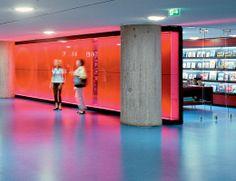 DLW Linoleum Referenzen - Haus der Kulturen der Welt in Berlin - Armstrong