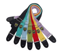 Cheap strap leather, Buy Quality guitar strap belt directly from China belt for guitar Suppliers: High Quality Adjustable Straps Leather Ends Guitar Colorful Cotton Straps Belt for Acoustic Folk Electric Bass Guitar Guitar Musical Instrument, Guitar Parts, Musical Instruments, Guitar Songs, Guitar Chords, Bass Guitar Straps, Fender Bass Guitar, Acoustic Guitar Strings, Acoustic Guitars