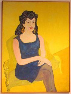 Beaufort Delaney - Seated Portrait of Darthea Speyer