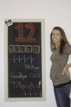 chalkboard baby weeks pregnant pregnancy months maternity bump growing chalk vermontbuddha lwheelerphoto.com 12 heart beat trimester first 1st