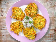 Gemüsepuffer – das einfache Rezept   LECKER