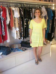 Maria Freytes visitó la nueva tienda de Moroshiki en Martínez