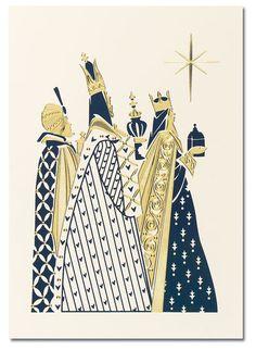 blank christmas cards 3 wise men religious scene by Diypaper, via Flickr
