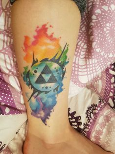 I love my legend of zelda tattoo submitted by http://kleines-komisches-etwas.tumblr.com