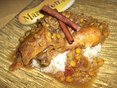 Photo de recette Tajine de poulet à la marocaine - Marmiton
