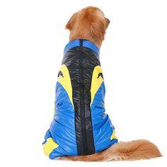 Pet Supplies Clothes Coats Overalls Parkas Down Jacket for Pets Dogs Bulldog Golden Retriever (6XL)-Intl | Lazada PH