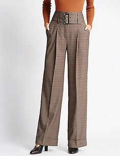 Wide Leg Striped Trousers #trousers #leggings #skinny #women #woman #fashion #style #marksandspencer #kadın #pantolon #mscollection #autograph #peruna #limitededition #wideleg #slimleg #straightleg