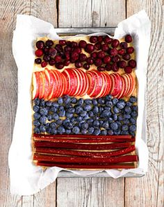 Mehrfrucht-Kuchen - Süße Blechkuchen - [LIVING AT HOME]