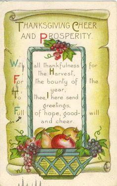 #fruit #turkeys #vintage #greetings #Fall #Thanksgiving #Autumn #bizitalk