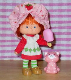 Strawberry shortcake doll. Had this..she smelled good!