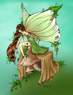 Leaf Fairy by Loulou13 on DeviantArt