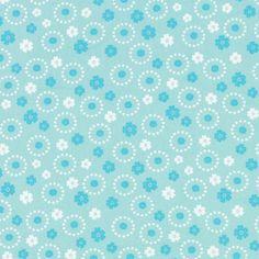 kankaita.com Cotton Ihmekukka 2 - Puuvilla - vaaleansininen
