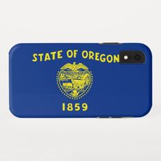 "Oregon USA State Flag Silver Badge Car Bumper Sticker Decal /""SIZES/"""