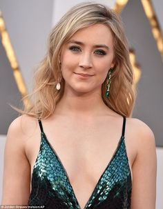Luck of the Irish? She will be hoping to win her first Oscar after previously losing out ...