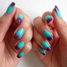 Pretty Digits: Bright Gradient Nails