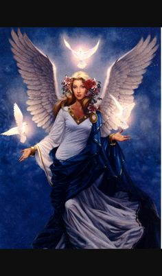 Angel of peace, rarely seen.