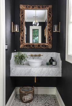 Oak Bathroom, Modern Bathroom Decor, Bathroom Colors, Bathroom Interior Design, Bathroom Flooring, Decor Interior Design, Small Bathroom, Bathroom Ideas, Bathroom Beach