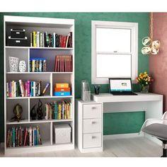 Room Design Bedroom, Bedroom Decor, Spare Room Closet, Bookshelves, Bookcase, Study Table Designs, Bookshelf Inspiration, Study Room Decor, Game Room Design