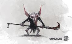 concept art for the game dwarfs & dragons by Enric Sant. OMNIDRONE