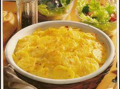 Batatas com  Creme de Leite - Veja mais em: http://www.cybercook.com.br/receita-de-batatas-com-creme-de-leite.html?codigo=13980