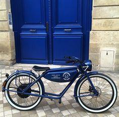 MEIJS Motorman - the electric moped from Maastricht Electric Moped, Motorized Bicycle, Urban Bike, Classic Bikes, Custom Bikes, Mountain Biking, Motorbikes, Bordeaux, Cruise