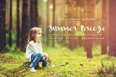 summer breeze free photoshop actions