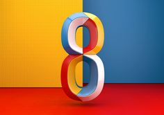 Spanish creative studio Muokkaa created these amazing colorful numbers for the second edition of 36 days of type.  More typography inspiration via Behance