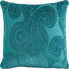 throw pillows teal purple brown green