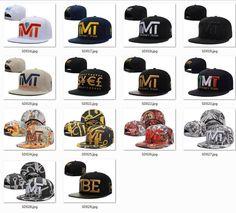 High quality TMT snapback hats for man and woman baseball caps sports fashion hip hop snapbacks free shipping.