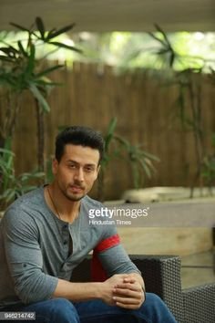 """Bollywood actor Tiger Shroff poses during an interview with HT City-Hindustan Times for the promotion of his upcoming movie """"Baaghi at Le Meridien, on March 26 in New Delhi, India. Get premium, high resolution news photos at Getty Images Tiger Shroff Body, Indian Flag Images, Cute Baby Wallpaper, Fight Song, Crazy Fans, Get Reading, Upcoming Movies, Bollywood Stars, Male Models"""