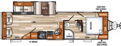 Vibe Extreme Lite Travel Trailers by Forest River RV