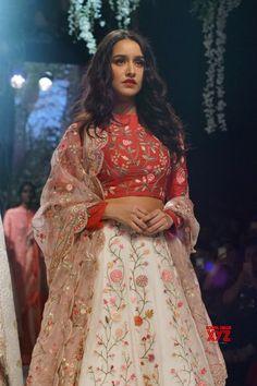 Mumbai: Lakme Fashion Week Winter/Festive 2017 Shraddha Kapoor - Social News XYZ