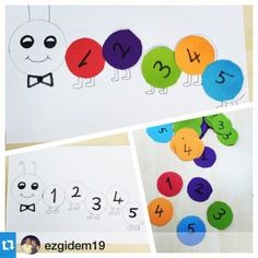 28 Popular Numbers Craft Idea For Kids Images Day Care Preschools
