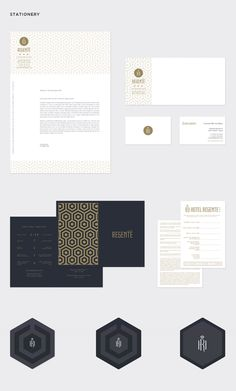 Hotel Regente by Rodrigo Aguadé, via Behance