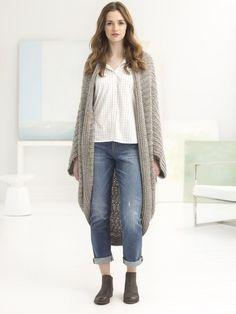 Quick Cocoon (Crochet) - Lion Brand Yarn