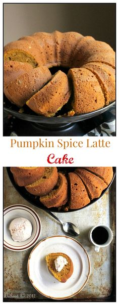Everyone's favorite Pumpkin Spice Latte in the form of CAKE!