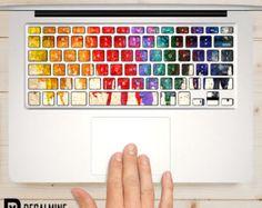 Designer MacBook Tastatur Aufkleber entfernbaren von DecalMine