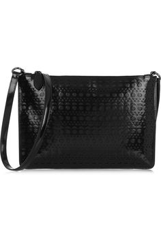 Alaïa | Vienna laser-cut leather shoulder bag | NET-A-PORTER.COM