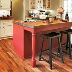 red kitchen islands kidkraft pink retro & refrigerator 53160 16 best island with legs images all about