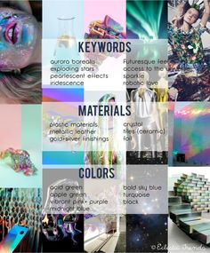 TRENDS // ECLECTIC TRENDS - AW 2016/17 GLOBAL COLOR RESEARCH - COSMIC PART IV