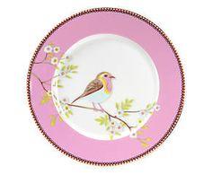 Prato para sobremesa bird belle - 21cm