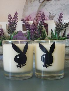 Sexy Playboy Bunny Candles fragraned with Sex on the Beach $18 each or $30 for the pair. www.facebook.com/dreamcandles4740
