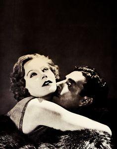 Greta Garbo and John Gilbert in Flesh and the Devil, 1927