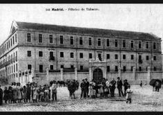 Fabrica de tabacos a fines del siglo XIX