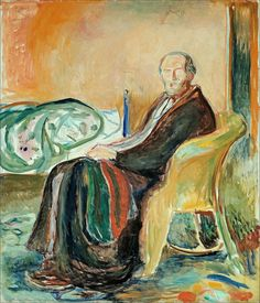 Edvard Munch · Self Portrait after the Spanish Flu · 1919 · National Gallery · Oslo