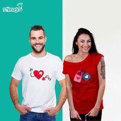 Walentynkowe love :-) #love #tshirt #znadrukiem #walentynki Więcej wzorów znajdziesz tutaj: https://goo.gl/bVuz6t